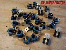 military truck parts military truck radio m151 m35 hose tubing wire wiring clamp 1 4 lot of 24