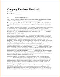 How To Write An Employee Handbook - April.onthemarch.co