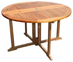 chic teak furniture. simple chic teak butterfly round table transitionaloutdoordiningtables inside chic furniture