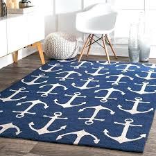 nautical area rug rugs indoor outdoor novelty anchors 8 x for nursery uk nautical area rug