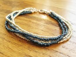 multi strand bracelet or necklace how