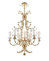 measuring 40 h x 30 dia the contessa brass chandelier from the tony duquette collection by remains lighting has a fanciful presence 12 985 remains