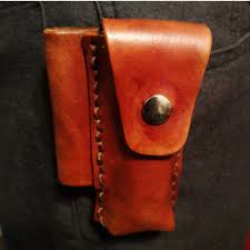 classic leather kit pocketknife holster