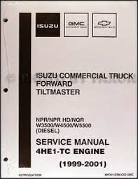 isuzu npr truck wiring diagram images 1999 2004 diesel engine 4he1 tc repair shop manual isuzu