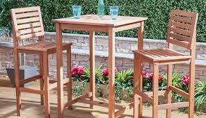 wooden garden table parasol set tesco chairs outdoors homebase asda and plastic winsome outside sets small