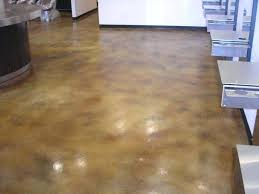 stained concrete floors cost vs hardwood