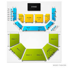 Acl Seating Chart Austin City Limits Live At Moody Theatre Tickets