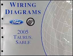 2005 ford taurus & mercury sable wiring diagrams manual original 1995 Ford Taurus Wiring Diagram 1995 Ford Taurus Wiring Diagram #45 1995 ford taurus radio wiring diagram