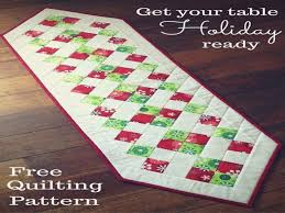 free online quilted table runner patterns Archives ... & 25+ unique Table runner pattern ideas on Pinterest | Quilted table . ... Adamdwight.com