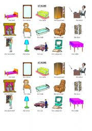 english home furniture. english worksheet home furniture