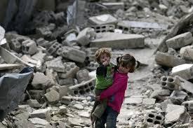 Resultado de imagen de niños guerra