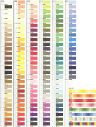 Mettler Thread Color Chart Free Mettler Sewing Thread Color Card Chart Color Threads Dmc