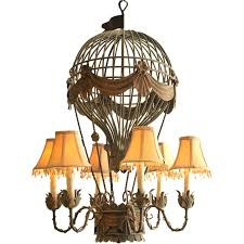 hot air balloon chandelier at 1stdibs with designs 6
