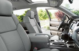 2018 ford fiesta front seats side view