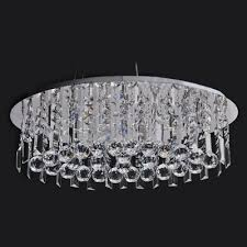 clear hand cut crystal gives contemporary pendant light sophisticated look full of shine