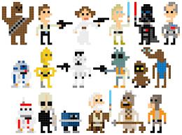 Pixel Character Template 8 Bit Character Template