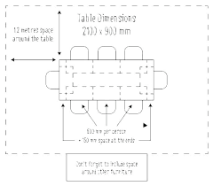 Dining Room Table Size Calculator Bohemica Info