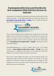 top assignmentreviews com provides the best assignment help websites