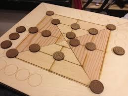 Wooden Board Games To Make Nine Men's Morris Board Game Wooden board games and Board 72