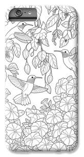 Small Picture Adult Coloring Pages iPhone 7 Plus Cases Fine Art America