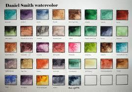 Daniel Smith Watercolor Chart Olympus Digital Camera Pb280