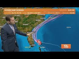 Hurricane Dorian Forecast Update Latest Path And Spaghetti Plots