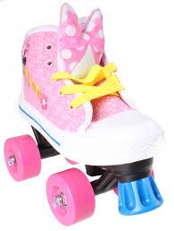 Disney Roller Skates Minnie Mouse Girls Pinkwhite Internet