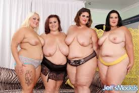 Fat women getting down on their knees and suck cock together.