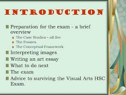 visual arts a guide to the hsc ppt video online 2 introduction preparation