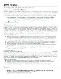 Instructional Designer Resume Unique Interior Design Resume Examples Instructional Design Cover Letter