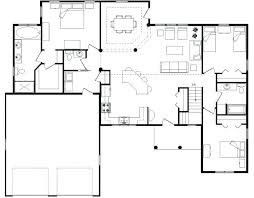 open floor plan house plans. Open Modern Floor Plans Plan House Best Small . E