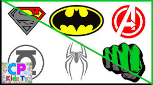 Superheroes Logo Coloring Pages Part 4 , Superheroes Coloring ...