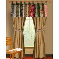 Grandma's Quilt Lined Patchwork Curtain Valance by Park Designs at ... & Global Trends Antique Chic Curtain Panel, Set of 2 Not sure I like the  valance look if I used it definitely different color long curtains those  don't look ... Adamdwight.com
