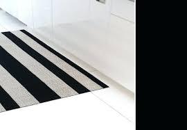 creative of striped bath rug black and white bathroom blue mat set