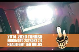 2014 2020 Toyota Tundra Morimoto 2stroke 2 0 Led Headlight Bulbs