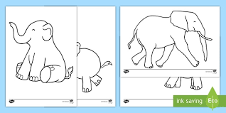 Our elephant coloring pages are free and easy to print. Baby Elephant Coloring Pages Teacher Made