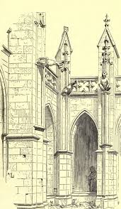 Narbonne Cathedral France Drawings Architectural Pinterest