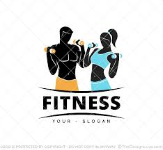 Fitness Gym Logo Business Card Template