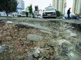 Image result for jalan rusak di jakarta