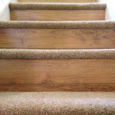 carpet on tread and wood or laminate flooring on the riser this design by bp carpets and flooring adds an extra luxury touch to look and feel of your