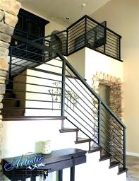 Wrought iron stair railing Indoor Lovely Wrought Iron Stair Railings Interior Railing Cost Of How Much Do Garden Design Cost Of Wrought Iron Stair Railing Thebleachers