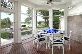 Sunroom Dining Room Ideas Set