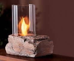 real flame ledgerock tabletop firepit