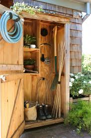outdoor garden tool storage. organize your garden tools in a nice shed that you can easily put outside of outdoor tool storage