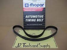 mopar car truck engine timing components for plymouth reliant new oem mopar tb000114 engine timing belt fits plymouth reliant