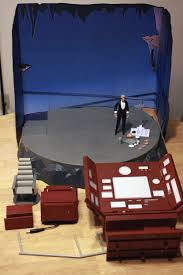 animated series batcave diorama