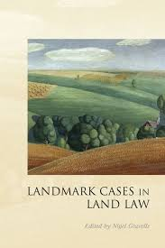 landmark cases in land law landmark cases nigel gravells hart landmark cases in land law