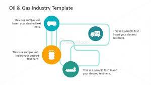 Oil And Gas Industry Powerpoint Flow Diagram Slidemodel