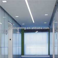 linear recessed lighting t5 fluorescent office recessed light