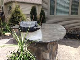 outdoor bar and grill concrete countertop outdoor bar and grill concrete countertop